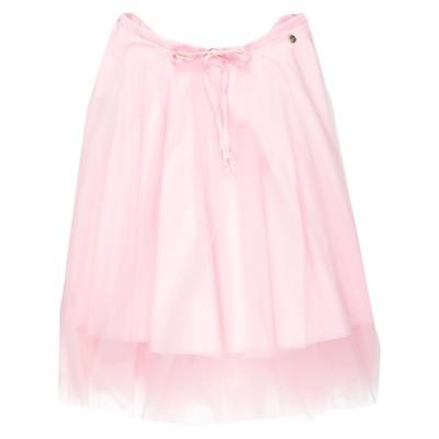 スーベニア SOUVENIR 7分丈スカート ピンク S コットン 97% / 合成繊維 3% / ナイロン 7分丈スカート