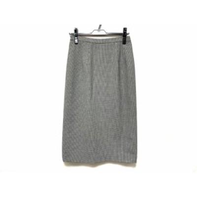 スペッチオ SPECCHIO スカート サイズ40 M レディース 美品 黒×白 千鳥格子【中古】20200425