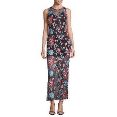 アレクシアアドモール レディース ワンピース Embroidered Sleeveless Dress