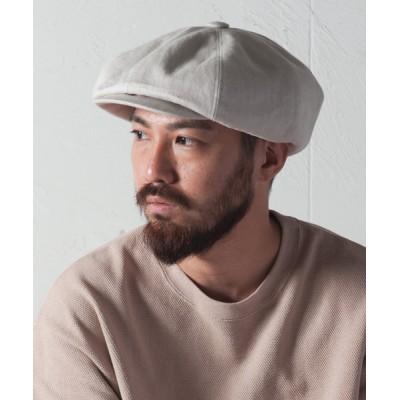 帽子 キャスケット Linen Huge Casquette / リネンヒュージキャスケット