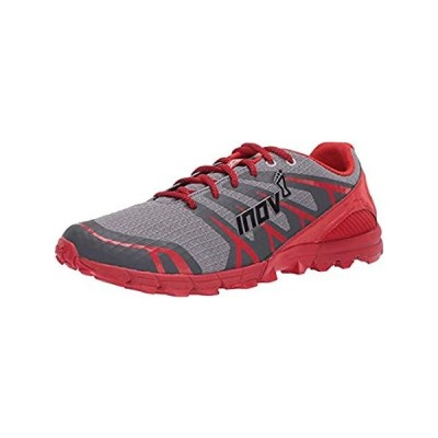Inov-8 Mens Trailtalon 235 - Lightweight Trail Running Shoes - Grey/Red - 1