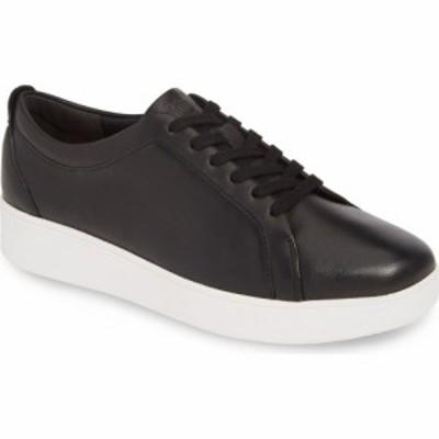 フィットフロップ FITFLOP レディース スニーカー シューズ・靴 Rally Sneaker Black Leather