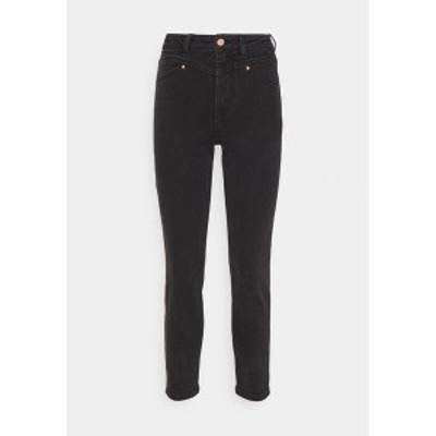 オンリー レディース デニムパンツ ボトムス ONLERICA LIFE - Straight leg jeans - black denim black denim