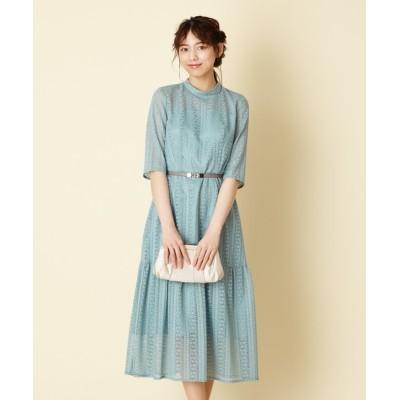 ドレス 【WEB限定】パーティスタイル3点セット 《マーメイドラインドレス・ライトグリーン》