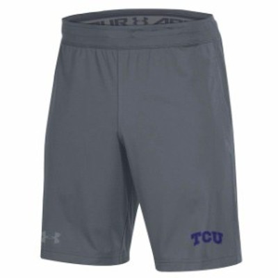 Under Armour アンダー アーマー スポーツ用品  Under Armour TCU Horned Frogs Gray MK-1 Performance Shorts