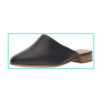 Clarks Women's Pure Blush Mule, Black Leather, 8 M US【並行輸入品】