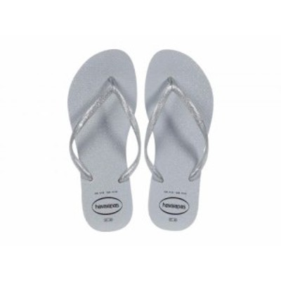 Havaianas ハワイアナス レディース 女性用 シューズ 靴 サンダル Slim Gloss Flip-Flop Ice Grey【送料無料】