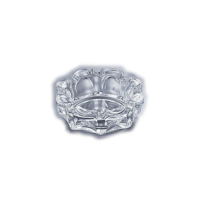 【まとめ買い10個セット品】ガラス製 ローラー灰皿 P-05533