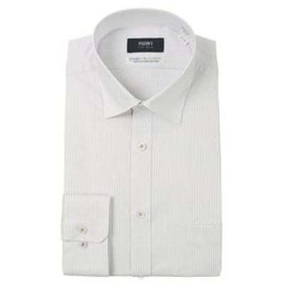 【長袖】【Smart Biz Active+】【ワイドカラー】スタイリッシュワイシャツ