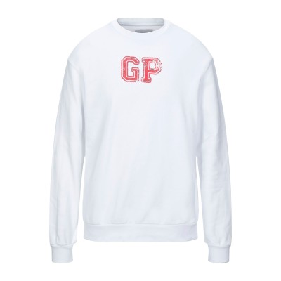 GAëLLE Paris スウェットシャツ ホワイト 2 コットン 100% スウェットシャツ