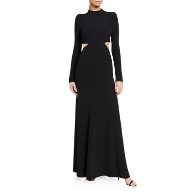 エーエルシー レディース ワンピース トップス Gabriela Cutout Long-Sleeve Gown
