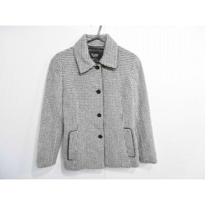 エムプルミエ M-PREMIER ジャケット サイズ36 S レディース 黒×白 千鳥格子【中古】