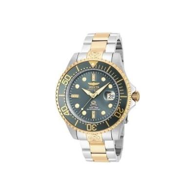 インヴィクタ 20143 47ミリ グランド ダイバー オートマチック デート ダイヤモンド アクセント メンズ 腕時計