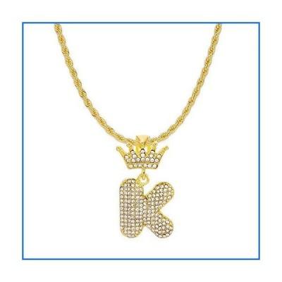 HH Bling Empire ヒップホップ アイスアウト ゴールドクラウンベイルキュービックジルコニア ダイヤモンド