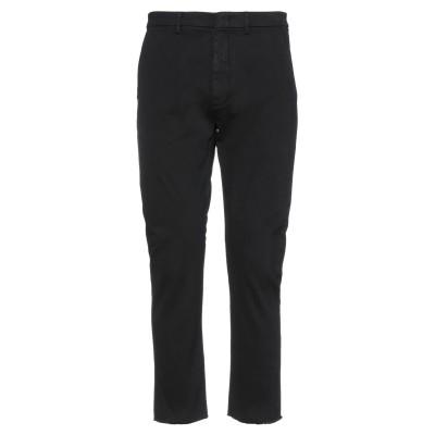 ペンス PENCE パンツ ブラック 48 コットン 97% / ポリウレタン 3% パンツ