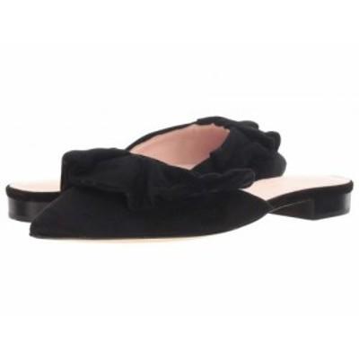 Kate Spade New York ケイト・スペード レディース 女性用 シューズ 靴 フラット Fayrn Mule Black Suede【送料無料】