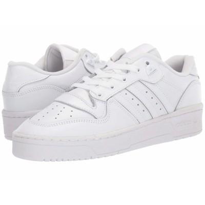 アディダスオリジナルス スニーカー シューズ メンズ Rivalry Low Footwear White/Footwear White/Core Black 1