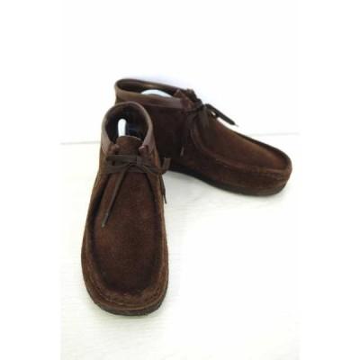 クラークス Clarks ブーツ メンズ サイズ9 1/2 ワラビー スウェード 中古 ブランド古着バズストア 171118