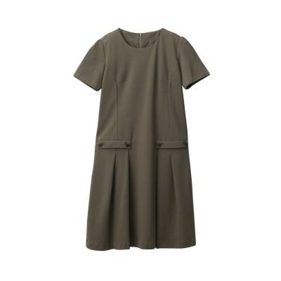 大きいサイズ 日本製生地使用カットソーワンピース ,スマイルランド, ワンピース, plus size dress