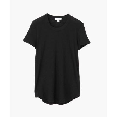 【トゥモローランド】 スラブジャージー クルーネック Tシャツ WUA3037 レディース ブラック 0(S) TOMORROWLAND