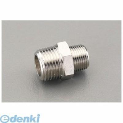 エスコ [EA141CD-112] R 1/8xR 1/4 異径ニップル(真鍮製) EA141CD112【キャンセル不可】