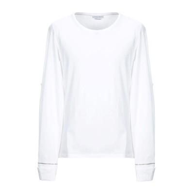 アレキサンダー マックイーン ALEXANDER MCQUEEN T シャツ ホワイト XS コットン 100% T シャツ