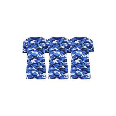 ギャラクシーバイハルビック レディース Tシャツ トップス Women's Loose Fitting Short Sleeve Crew Neck Camouflage Printed T-Shirt - 3 Pack