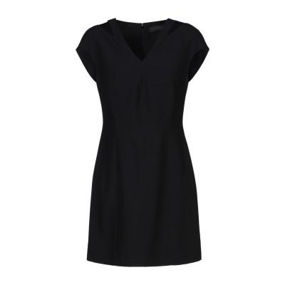 VERSACE ミニワンピース&ドレス ブラック 38 アセテート 74% / レーヨン 26% ミニワンピース&ドレス