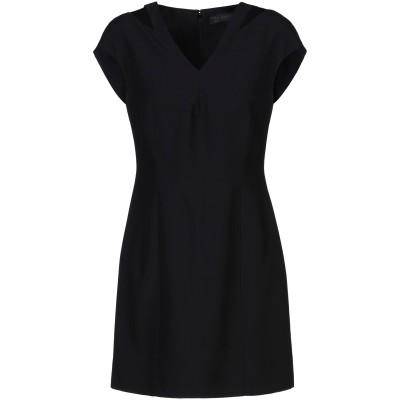 VERSACE ミニワンピース&ドレス ブラック 48 アセテート 74% / レーヨン 26% ミニワンピース&ドレス