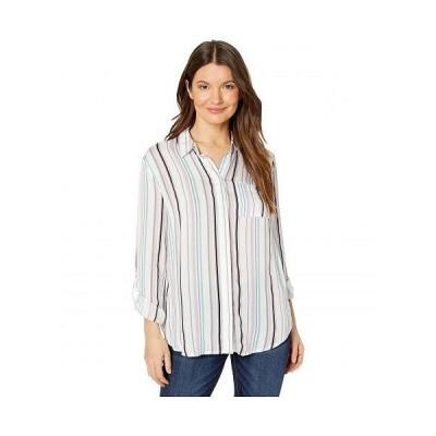 Tribal トリバル レディース 女性用 ファッション ボタンシャツ Roll Up Sleeve Shirt - Jungle
