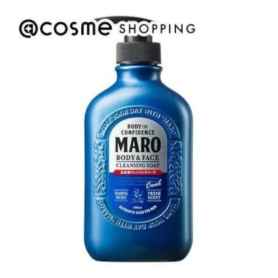 【アットコスメショッピング/@cosme SHOPPING】 MARO(マーロ) 全身用クールクレンジングソープ (400ml)