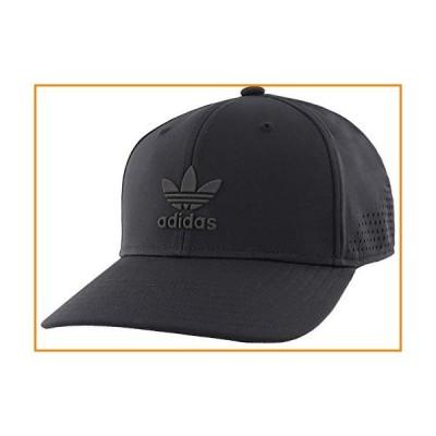 Adidas Men 's Originals Techメッシュスナップバック野球キャップ ブラック【並行輸入品】