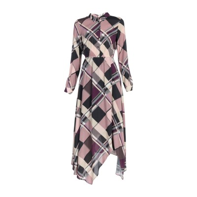 TWENTY EASY by KAOS 7分丈ワンピース・ドレス ローズピンク 42 レーヨン 100% 7分丈ワンピース・ドレス