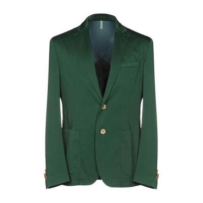 DOMENICO TAGLIENTE テーラードジャケット ファッション  メンズファッション  ジャケット  テーラード、ブレザー グリーン