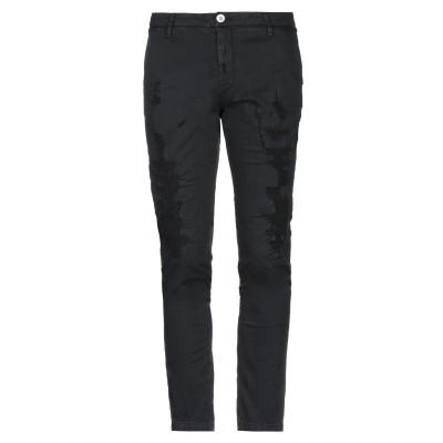 アリーニ AGLINI パンツ ブラック 34 コットン 97% / ポリウレタン 3% パンツ