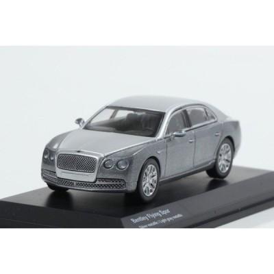 【Kyosho】 1/64 Bentley Flying Spur Silver metallic / Light gray metallic