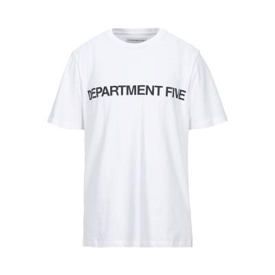 デパートメント 5 DEPARTMENT 5 T シャツ ホワイト S コットン 100% T シャツ