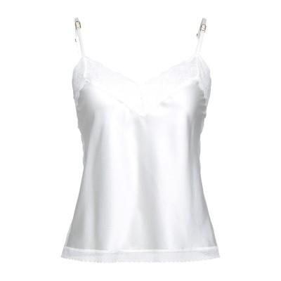 ステラ マッカートニー STELLA McCARTNEY アンダーTシャツ アイボリー L シルク 92% / ポリウレタン 8% アンダーTシャツ