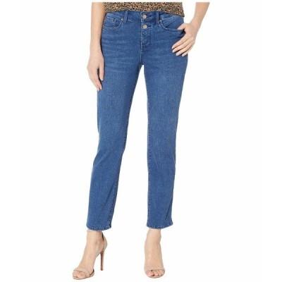 エヌワイディージェイ デニム ボトムス レディース Sheri Ankle Jeans with Mock Fly in Nevin Nevin