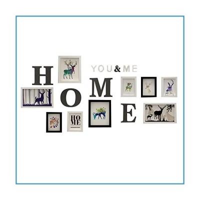 新品Multi Picture Frame Collage Wall Gallery Poster for Family Home Decorations, Five 5x7 Inch, Two 7x12 Inch, Two 8x10 Inch Photo Board