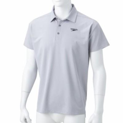 スピード(Speedo)ショートスリーブスタンダードシャツドライポロシャツ(メンズ) SA41909-GY