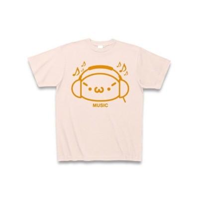【音楽】シャキーンmusicバージョン2/オレンジ Tシャツ(ライトピンク)
