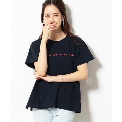 tシャツ Tシャツ ロゴプリント オーバーサイズ Tシャツ