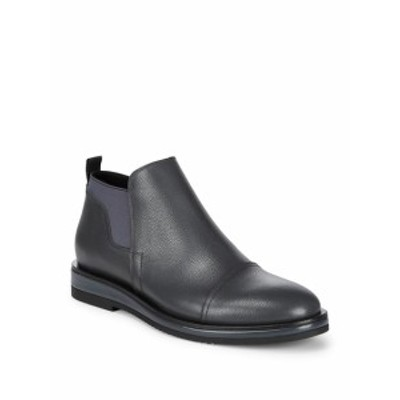 カルバンクライン メンズ シューズ ブーツ Leather Chelsea Boots