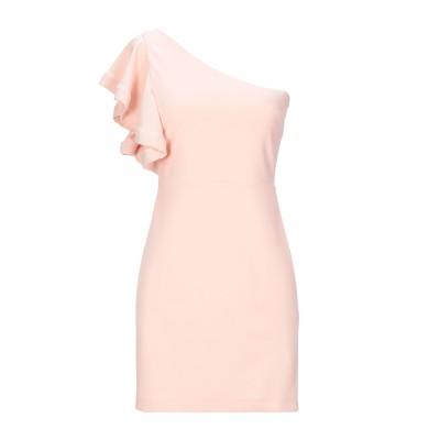 SOALLURE ミニワンピース&ドレス ピンク 40 ポリエステル 95% / ポリウレタン 5% ミニワンピース&ドレス