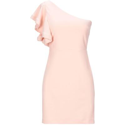 SOALLURE ミニワンピース&ドレス ピンク 38 ポリエステル 95% / ポリウレタン 5% ミニワンピース&ドレス