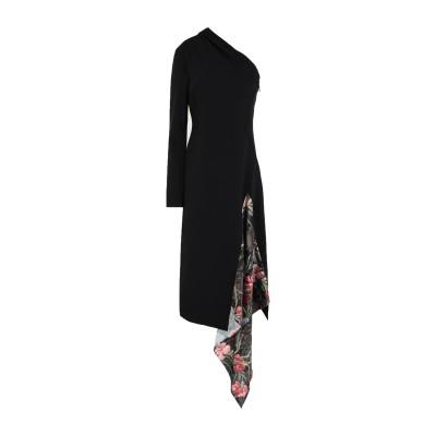 OFF-WHITE™ 7分丈ワンピース・ドレス ブラック 38 ポリエステル 100% 7分丈ワンピース・ドレス