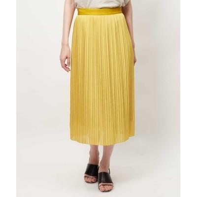 MICHEL KLEIN HOMME / 【洗える】ストライプメッシュプリーツスカート WOMEN スカート > スカート