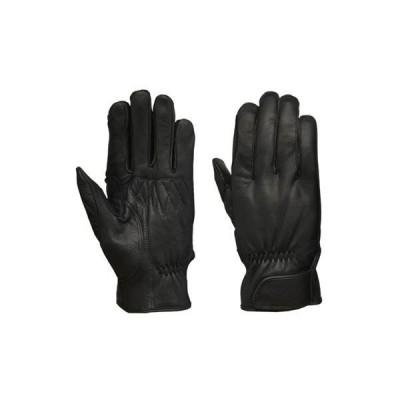 リード工業 レザーグローブ ブラック フリーサイズ GL-704A|b03