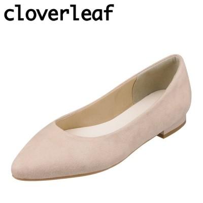 クローバーリーフ cloverleaf CL-1226 レディース | パンプス | ふわふわ インソール | 屈曲性 | ローヒール | ベージュ